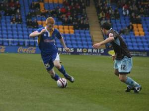 Michael Barnes, copyright of www.shrewsburytown.premiumtv.co.uk