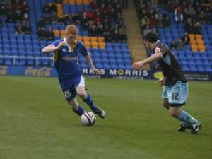 Michael Barnes, copyright of www.shrewsburytown.premiumtv.co.uk